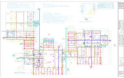 Custom Architectural Plans Cover Page